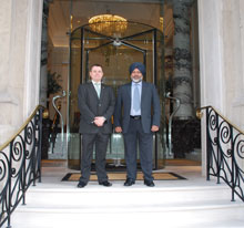 The refurbished Langham, London deployed PA/VA systems from TOA