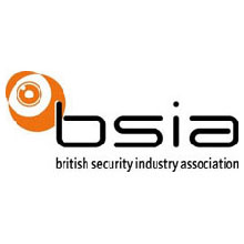 The British Security Industry Association logo, the association represents the security industry