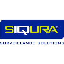 Siqura logo, an Optelecom-NKF brand, offering products to the video security and surveillance markets