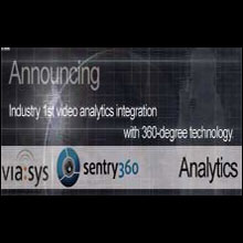 Sentry360 and Viasys collaborate for 360° video surveillance