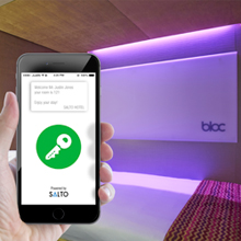 Boxbuild is working with SALTO to roll out AElement smart locks across the Bloc Hotel brand