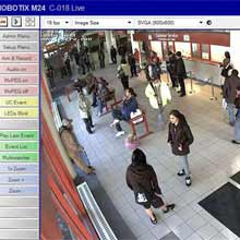 The MOBOTIX cameras also provide a high level of video quality through its use of megapixel sensors
