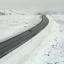 The Icelandic Road Traffic Directorate had 30 Mobotix cameras installed in mostly deserted areas around the country