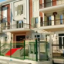 The security of Kuwait Embassy in Albania is well protected by Anviz systems