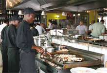Axis CCTVs sets security in motion at Chefs-IN-Motion restaurant