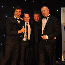 Excel Networking Solutions received Cabling Supplier of the Year 2011 award