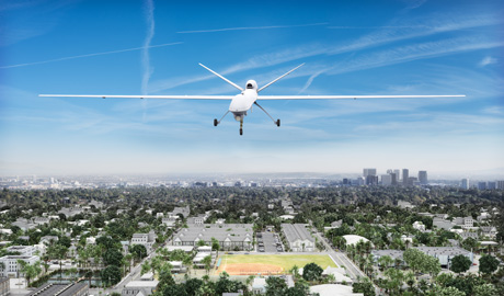 Surveillance drones have developed useful add-ons, for example a Japanese technology enables drones to detect and follow intruders
