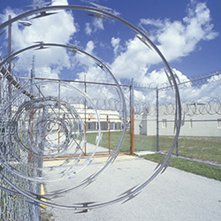 the idea of prison contraband rarely extends beyond the old gag of a file inside a cake