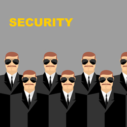 The time logistics carefully planned by executive security can increase the productivity of their clients.