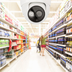 Taiwan has one convenience store for every 2000 residents, making it a huge potential market for surveillance cameras