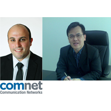 Comnet's expansion to french-language regions of Europe and Asia