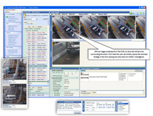 Using used for monitoring transactions at toll plazas, it can handle metadata including identity of operator, event inputs from axle-counting