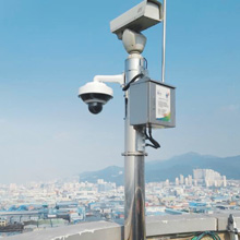 Hikvision PanoVu cameras used in Daegu, South Korea