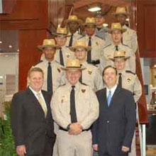 Custom Protection Officer® recognised for heroism in Memphis Hotel Fire