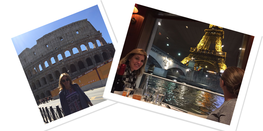 Vanderbilt's Kim Loy enjoys vacations in Rome and Paris