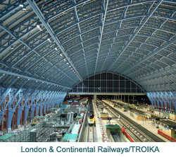St Pancras International, Eurostar's new central London home, is using leading edge IP CCTV technology from Bosch Security Systems
