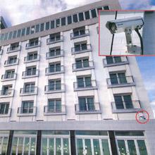 New York's Allegria Hotel & Spa has a Sony CS50 IP camera