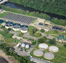Bosch infrared illumination protects a major water utility
