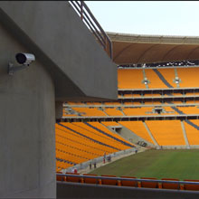 Dallmeier cameras were chosen to help secure the stadiums in Johannesburg