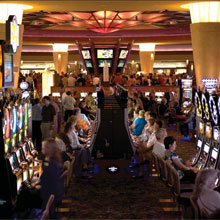 A mix of Honeywell security products were installed at Mohegan Sun casino
