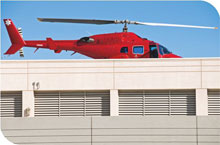 With the aid of Siqura's video surveillance, critical emergencies are recorded and attended to by emergency airlift services