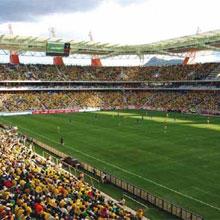 Axis network IP cameras boost stadium security for Mbombela Football Stadium