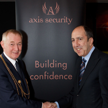 Newcastle's Mayor welcomes Axis Security into its fold