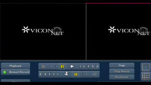 Basics of Viewing Playback Video in a ViconNet Video Management System