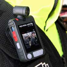 Parking officers form Hammersmith and Fulham are equipped with Reveal Media's RS3 cameras