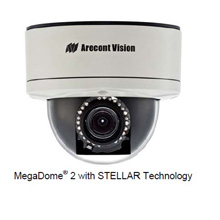 STELLA R will initially be available in Arecont Vision's MegaDome® 2 all-in-one megapixel cameras