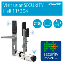 Security Essen also sees the launch of the next generation of Aperio® electronics