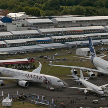 The Farnborough International Airshow showcases the best of the global aerospace industry