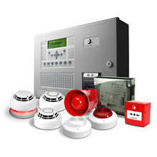Hochiki's FIREscape panel continuously monitors and tests the functionality of the system