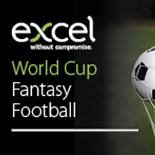 The Excel World Cup Fantasy Football game is free to take part and participants have the chance to win a Sonos Sound System equipment