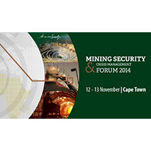 The Mining Security & Crisis Management Forum 2014 is sponsored by the multinational telecommunication services company BT