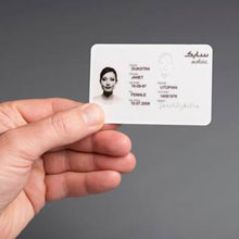 SABIC's portfolio of LEXAN SD films include electronic ID cards, government and police ID cards, passport data pages