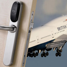 XS4 Mini is a smart, secure access solution housed within a small door handle design for easy mechanical key replacement