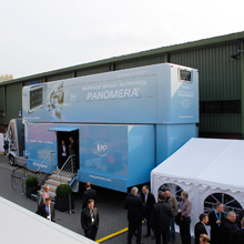 One of the highlights of the Dallmeier roadshow was the stop at the Security trade fair in Essen
