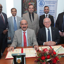 The agreement makes provision for support and consulting in the area of security, the recognition of the quality training program and opportunities for organising learning and development opportunities