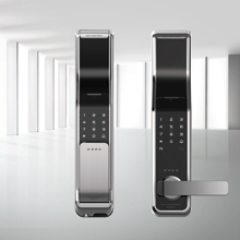 The KEES lock brings the security and convenience of iris biometrics to multi-unit residential properties and apartment buildings