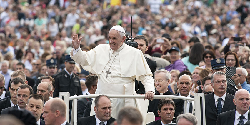 Protecting public figures, such as the Pope, was a topic of interest
