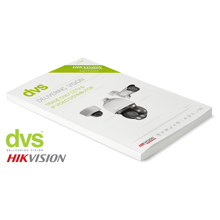 The HIKVISION only issue is published 6 months after the DVS full product catalogue to accommodate the latest releases of the innovative company