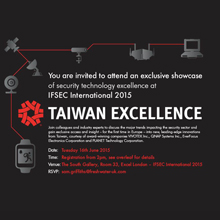 TAITRA is delighted to be showcasing a selection of Taiwan's latest technology innovations at IFSEC International