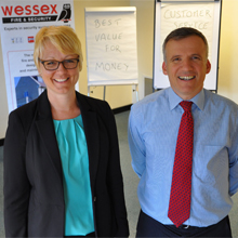Jess to joins the Senior Management team of Wessex Fire & Security, headed by Managing Director, Installation Manager, & Quality Manager