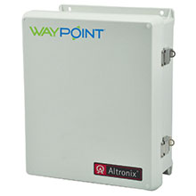 The PMK1 Pole Mount Kit simplifies installation of WayPoint and other Altronix outdoor-rated power supplies