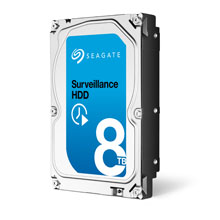 Seagate's Surveillance HDD product line has been designed to support these extreme workloads with ease
