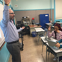 A monetary donation from Hikvision went toward supplies for the classroom, helping the students flourish and leading Hikvision to consider a more significant contribution