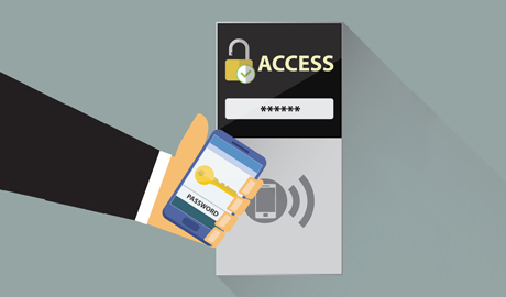 It is far less likely that an individual will loan or share mobile phone credentials than a redundant or temporary badge
