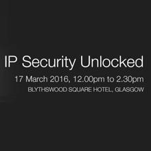 The IP Security Unlocked event will take place at Blythswood Square Hotel in Glasgow