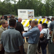 Delta HD300 barrier, HD2050, MP5000 barriers demonstration events in Washington, DC and Dallas